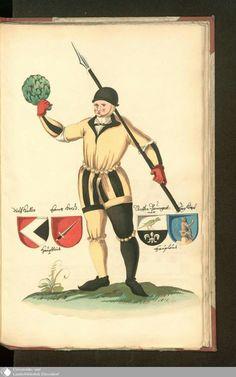 Titel  Das Nürnbergische Schönbartbuch  HerausgeberDrescher, KarlErschienenWeimar:Ges. der Bibliophilen,1908UmfangXII, 20 S., [83] Bl. : überw. Ill.
