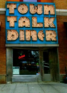 Town Talk Diner on East Lake Street in Minneapolis, Minnesota.Famous for tier chicken & waffles... do you know http://www.kidimo.com too ?