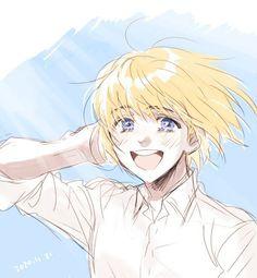 Animes Yandere, Fanarts Anime, Anime Manga, Anime Art, Ereri, Eren X Armin, Aot Characters, Arte Sketchbook, Attack On Titan Fanart