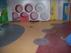 School in Hyderabad (picture 3 of 3). Vinyl flooring