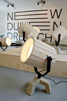 Via NordicDays.nl | The Barrel Lamp by Nieuwe Heren | Wood