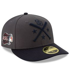 8ca7a429803d55 Men's San Diego Padres New Era Graphite/Navy 2019 MLB All-Star Workout On