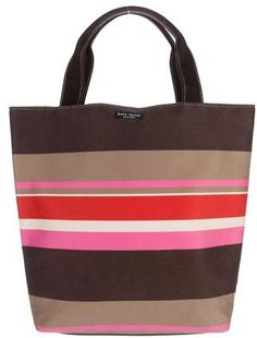 Kate Spade New York Striped Canvas Tote