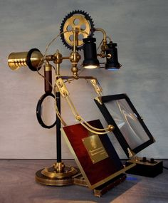 Steampunk book stand...