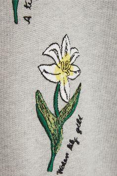 Steve J & Yoni P | Embroidered cotton-terry sweatshirt | NET-A-PORTER.COM