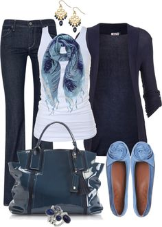 """Pretty in Peacock"" by averbeek on Polyvore"
