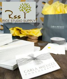 Photographer's Packaging Set giveaway from Rice Studio Supply, Inc.:  http://paperieboutique.com/2013/08/12/birthday-rice-studio-supply/