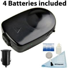 LandAirSea Magnetic Wireless Pocket-Sized GPS Tracking Key Pro System with Four FREE Batteries and Cigarette Lighter Adapter and a 5 Pc. Cleaning Kit for GPS Screens, Car Displays, Car Built-in DVD Players - For Sale