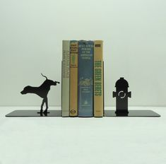 Bookend by Knob Creek Metal Arts