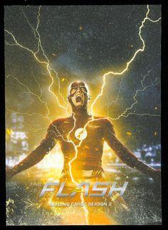 The Flash Season 2 Parallel Foil Base Card #62