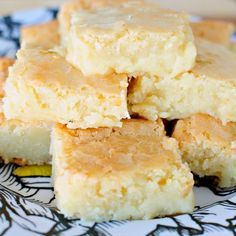 Fudgy White Chocolate Brownies Recipe Desserts with unsalted butter, white chocolate chips, granulated sugar, eggs, salt, vanilla extract, all-purpose flour