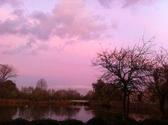 Rotterdam- overschie by sunset