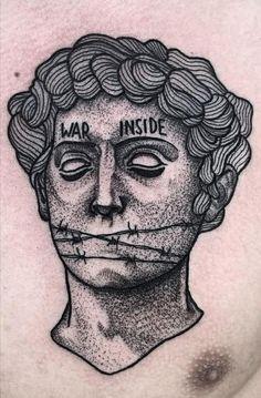 Hand Tattoos For Guys, Full Arm Tattoos, Black Ink Tattoos, Stomach Tattoos, Body Art Tattoos, Sleeve Tattoos, Sketch Tattoo Design, Tattoo Sketches, Blood Tattoo