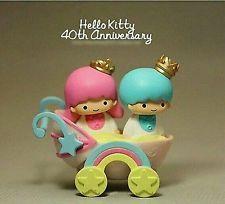 NEW Little Twin Stars Figurine 7-11 Sanrio 40th Anniversary Kids Toy Age 3+ H7cm