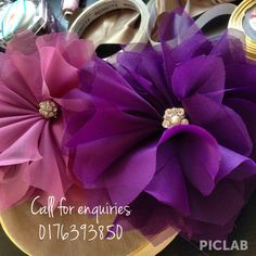 Fabric flowers to be used for gift trays (dulang hantaran) for Malay weddings Wedding Prep, Dream Wedding, Big Tray, Sewing Crafts, Diy Crafts, Malay Wedding, Wedding Favors, Wedding Ideas, Fabric Flowers