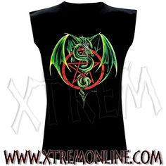 Camiseta Dragón con Pentagrama