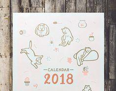 "Check out new work on my @Behance portfolio: ""2018 Calendar"" http://be.net/gallery/58652947/2018-Calendar"