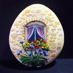 Easy Paint Rock For Try at Home (Stone Art & Rock Painting Ideas) Rock Painting Patterns, Rock Painting Ideas Easy, Rock Painting Designs, Pebble Painting, Pebble Art, Stone Painting, Stone Crafts, Rock Crafts, Pierre Decorative