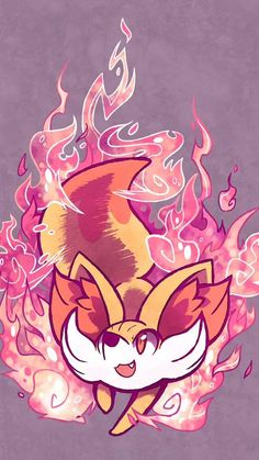 Wallpaper: Fennekin  If you like it: Save it!