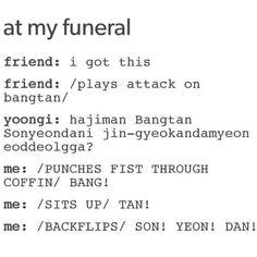 BTS | Bangtan | Attack on Bangtan | Pretty much ahaha XD