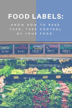 How to Read Food Labels by MSW Lounge
