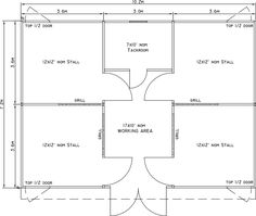 24 x 34 small horse barn layout                                                                                                                                                                                 More