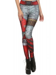 Poprageous Women's Comic Blade Leggings