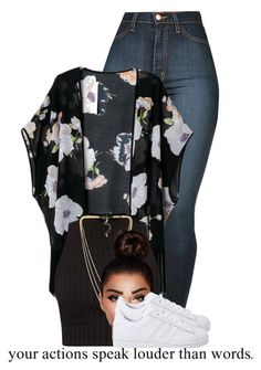 """2/29"" by trillgolddfashionn ❤ liked on Polyvore featuring NLY Accessories and adidas Originals"