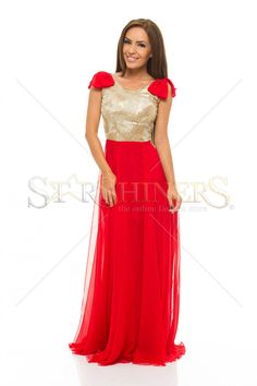 LaDonna Fashion Touch Red Dress