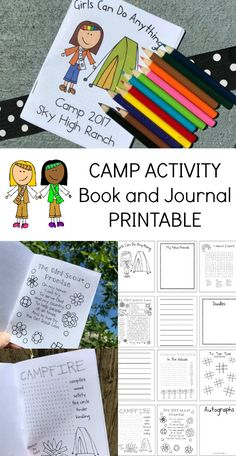 Editable Camp Booklet For Girl Scouts and Other Resources