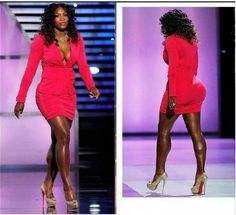 Now that's a body. Work Serena