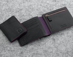 AURORE  #DELSEY #leather #black #wallet
