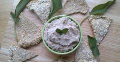 Rocket and Roses Vegan Kitchen: White Bean, Sage and Garlic Dip