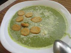 Σούπα βελουτέ με μπρόκολο !! Φανταστική ! Palak Paneer, Hummus, Diet, Ethnic Recipes, Food, Essen, Meals, Banting, Yemek
