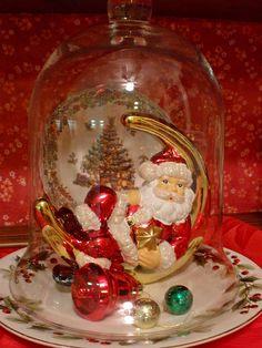 Holidays, Mary Christmas, Decor...Cloche