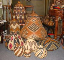 African Zulu Baskets. BelAfrique - Your Personal Travel Planner - www.belafrique.com