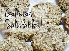 GALLETAS SALUDABLES (con 2 ingredientes)
