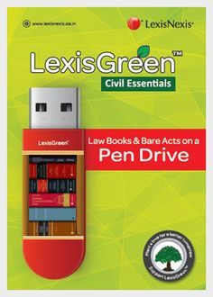 LexisGreen Civil Essentials pack is a magnanimous reference library for current, authoritative law books relating to civil law. The package will be an authoritative asset for comprehensive cross-referencing and elaborates civil laws along with insightful commentaries on the Law of Insolvency, the Indian Trusts Act, the Indian Stamp Act, and the RTI Act.