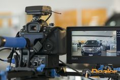 Behind the scene photos of our #AutoSuccess Magazine cover photoshoot by #DealerVideoProduction