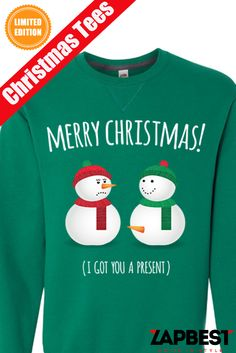 Quality Christmas Ugly Sweater  and tees..Click here  http://zapbest.com/collections/ugly-christmas/products/snow?variant=10516872643 Made just for you! Printed in USA Fast Shipping! In Stock.