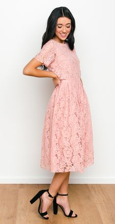 Saratoga Lace Dress