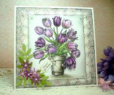 PSX tulip bucket card