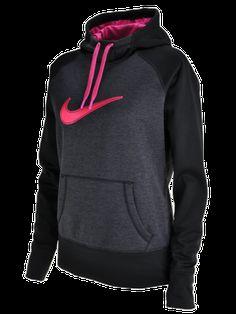 Women's Nike Swoosh Out Fleece Hoodie #Hibbett4Pink