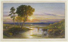 The Winding Stream - Samuel Palmer