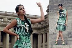 Diseños realizados por nuestra querida egresada del Programa Intensivo de Moda #PIM, Carola Solis. Colección Caleidoscópica Lima. Presentada en Estados Unidos con Promperu.