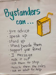 Bystanders: The Juice Box Bully. Library has it and I can use in 2nd grade!