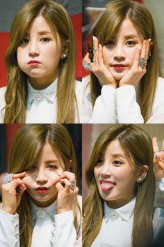 APink ChoRong South Korean Girls, Korean Girl Groups, Panda Eyes, Pink Panda, Star K, Female Artist, Kawaii, Chubby Cheeks, Korean Star