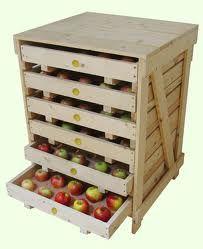 apple shelves that I would turn into scrapbook shelves! Hard Cider Recipe, Clocks Go Back, Log Cabins For Sale, Hard Apple Cider, Outdoor Furniture, Outdoor Decor, Wine Rack, Garden Tools, Tray