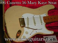 96 Cunetto Mary Kaye Relic at www.moesguitars.net