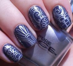 Born Pretty Store Stamping Plate QA88    Code EMX31 for 10% off    http://www.bornprettystore.com/nail-stamp-template-quirky-arabesque-pattern-qa88-p-15087.html